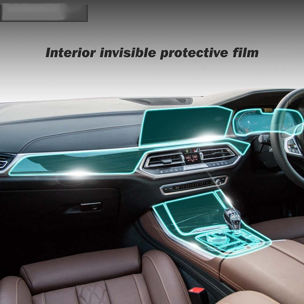 LYAKK Right Hand Car Interior Central Great interest Control Protector N Screen Translated