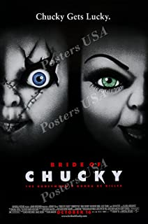 Posters USA Bride of Chucky Child's Play GLOSSY FINISH Movie Poster - FIL832 (24