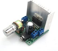 WINGONEER DC 9-15V TDA7297 Stereo Amplifier Audio Amplifier 15W+15W Dual Channel LED Indicator Heatsink Potentiometer Screw