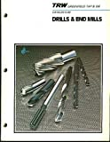 TRW Greenfield Tap & Die Catalog G-80 (Drills & End Mills)
