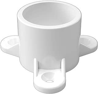 FORMUFIT F001ECT-WH-10 PVC Table Cap, Furniture Grade, 1