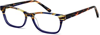 Fashion Couple Eyewear Frame Square Imitation Wood Grain Non-prescription Optical Eyeglasses