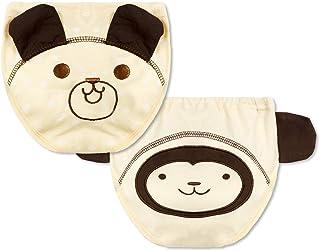 Morbuy-Shop, Pantalones de Entrenamiento para Bebé, Morbuy Reusable Calzones de Entrenamiento Ropa Interior de Entrenamiento Bragas de Aprendizaje para Niño Niña, 6-36 Meses, 2Piezas