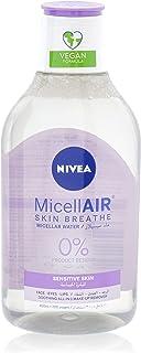 NIVEA Micellar Water Makeup Remover All Skin Types, 400 ml
