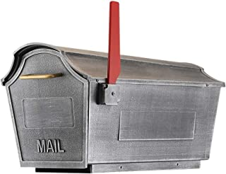 Town Square Curbside Mailbox (Swedish Silver)