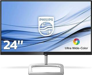 Philips 246E9QJAB 24-inch E Line Full HD IPS monitor Ultra Wide AMD FreeSync Glossy Black/Silver
