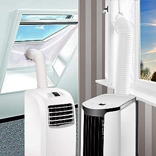 SanGlory Fensterabdichtung Hot Air Stop für Mobile Klimageräte, Klimaanlagen, Abluft-Wäschetrockner und Wäschetrockner, 300CM,AirLock zum Anbringen an Fenster,Dachfenster FlügelfensterFenster 300CM