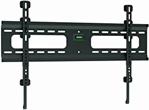 """Ultra-Slim Black Flat/Fixed Wall Mount Bracket for Philips 46PFL8007 46"""" inch LED HDTV TV/Television - Low Profile"""