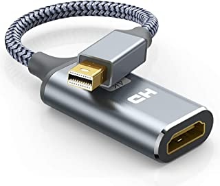 Mini DisplayPort HDMI 変換アダプタ 4K@30Hz 30cm Thunderport 2 to HDMI ミニ ディスプレイポート サンダーボルト MacBook Air, iMac, MacBook Pro, Surfa...