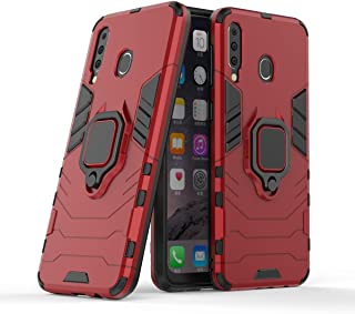 Shockproof case armor Ironman Car Holder Stand Magnetic Suction bracket Finger Ring Kickstand TPU PC Protective case For S...