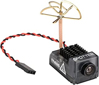 Spotter V2 Micro FPV AIO Camera 5.8G with OSD Integrated Mic FOV170 Degree 700TVL Video Transmitter 40CH 20MW-200MW Adjustable VTX for Mini FPV RC Drone by Crazepony