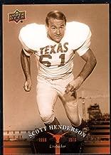 Best scott henderson texas football Reviews