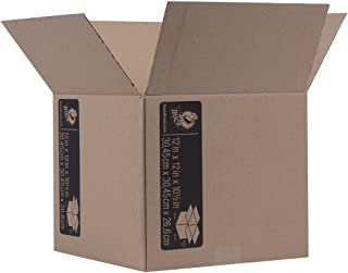 Duck Brand Kraft Corrugated Shipping Boxes, 12