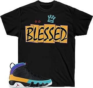 Jordan 9 Dream it do it Shirt, Retro 9 Shirt, Sneaker Match Blessed Shirt Short-Sleeve Unisex T-Shirt