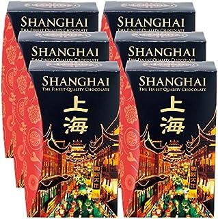 中国 土産 上海 ミニチョコフレーク 6箱セット (海外旅行 中国 お土産)
