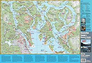 Desolation Sound and Discovery Islands: Marine Trail Mapsheet