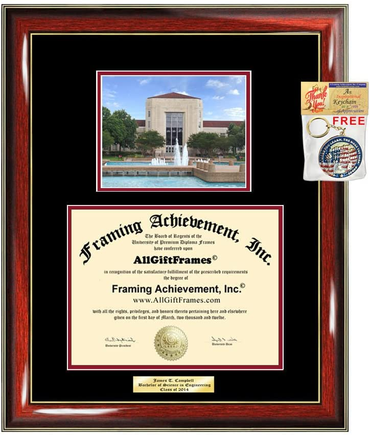 Diploma OFFicial mail order Frame University of Houston Idea Gift UH Engr Graduation Milwaukee Mall