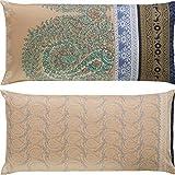 Bassetti - Federa per cuscino RECANATI 41, 40 x 80 cm, colore: Beige
