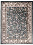 Carpeto Rugs Tapis Salon Turquoise 60 x 100 cm Oriental/Ayla Collection
