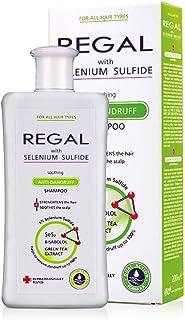 Regal Selenium Sulfide Champú anticaspa para el fortalecimiento del todo tipo de cabello - Calma el cuero cabelludo forta...