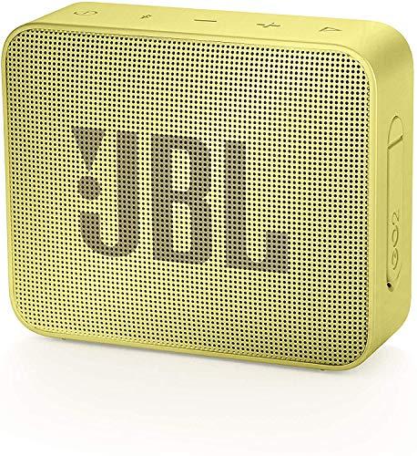 JBL GO2 Waterproof Ultra Portable Bluetooth Speaker (Yellow)