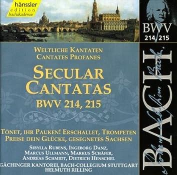 Bach, J.S.: Secular Cantatas, Bwv 214-215