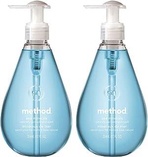 ハンドソープ 液体 おしゃれ メソッド(method) ジェルタイプ シーミネラルズの香り まとめ買い 手洗い 本体 354ml×2個 ボトル