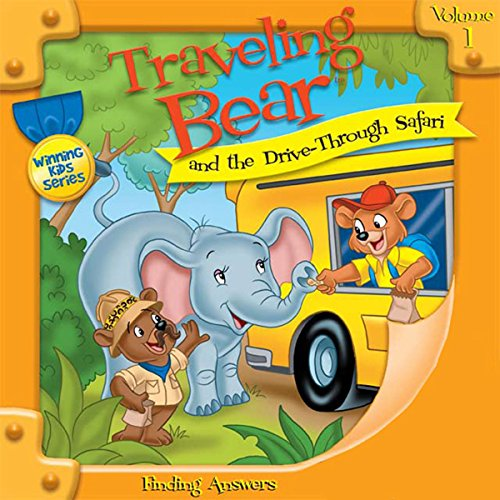 Traveling Bear and the Drive-Through Safari audiobook cover art