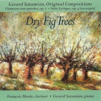 Dry Fig Trees