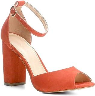7b38750c37 Moda - Vermelho - Sandálias   Calçados na Amazon.com.br