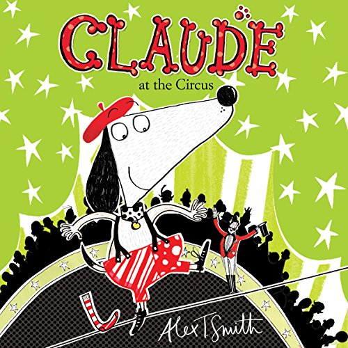 Claude at the Circus audiobook cover art