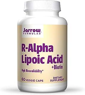 Jarrow Formulas R Alpha Lipoic Acid + Biotin - 60 Veggie Caps