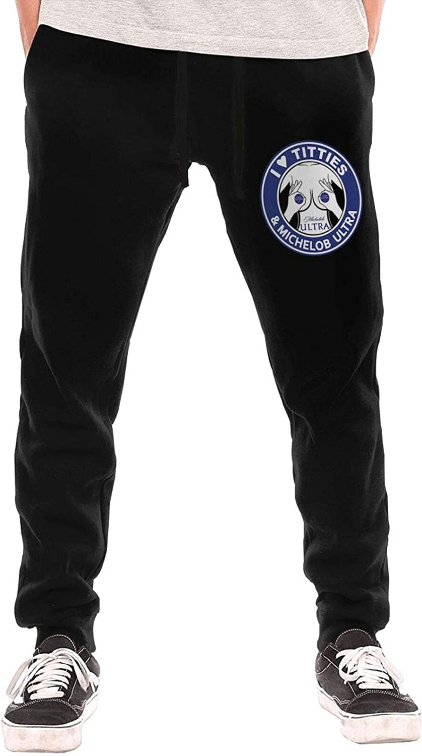 I Love Ti-Tties and Mi-Che-Lob Ultra Men's Fashion Long Pr Miami Mall Pants We OFFer at cheap prices
