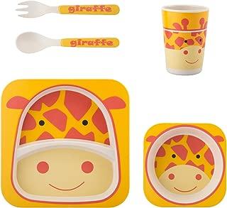 儿童竹餐具套装 长颈鹿 unknown