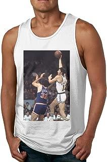 Men's Sleeveless Tank Top Shirts John-havlicek Poster Cotton Gym Vest Casual Sport T-Shirts