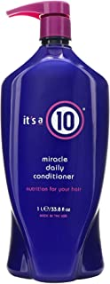 It's a 10 Haircare Miracle Daily Conditioner, 33.80 fl. oz.