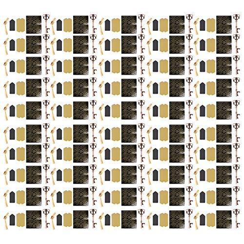 Fournyaa Abridor de Botellas de Cerveza, 50 Piezas de abridor de Vino de aleación de Zinc Resistente al Desgaste de Estilo Europeo, para(Type 4 (50pcs))