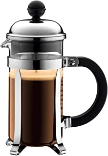 Bodum 1923-16US4 Chambord French Press Coffee and Tea Maker, 12 Oz, Chrome