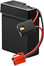 RAYMONT 6V 4AH Raplacement Battery for Kid Trax Kids Ride On Power Car Wheels Kid Trax Toddler Quad Rollplay Steam Train D...