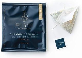 Rishi Tea Chamomile Medley Herbal Tea | Immune & Stress Support, USDA Certified Organic, Calming & Relaxation, Caffeine-Fr...