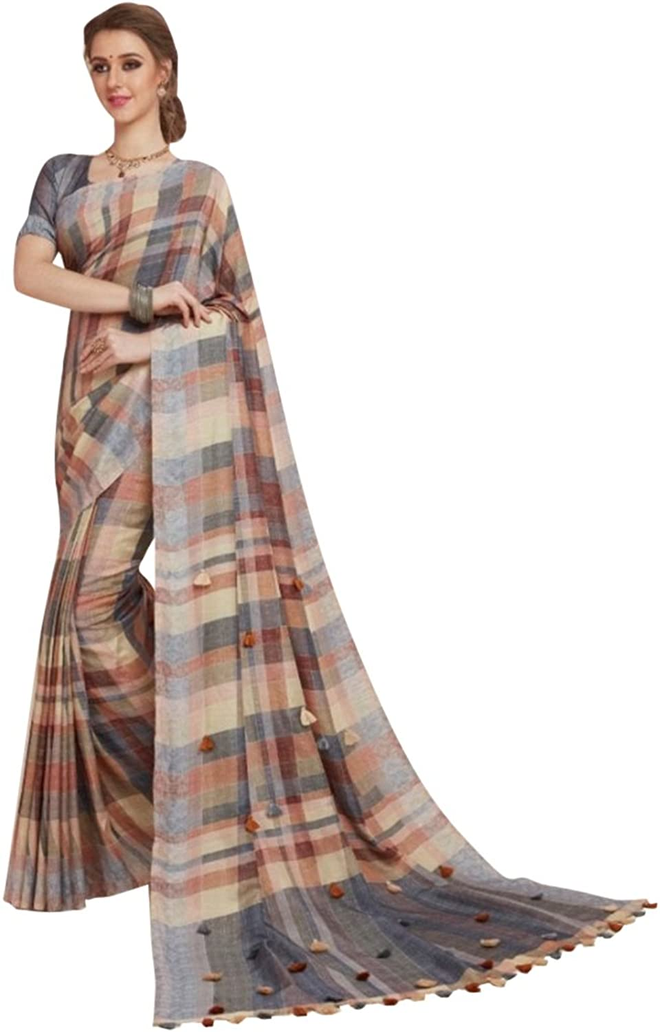 Designer Bollywood Saree Sari for Women Latest Indian Ethnic Collection Blouse Party Wear Festive Ceremony 896 10