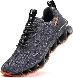 YZHYXS - Scarpe da ginnastica da uomo, per corsa, tennis, camminata