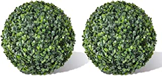 Retrome 2 pcs Boxwood Topiary Ball - 13.8