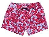 Hom Short de Bain Homme Nicaragua Rouge/Blanc (M)