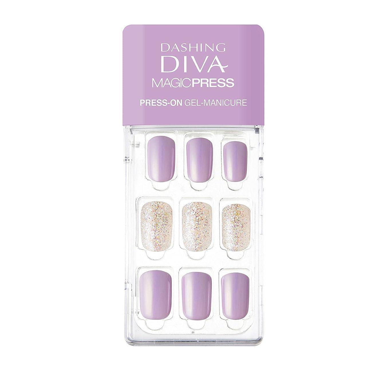 アリス延ばす悪因子ダッシングディバ マジックプレス DASHING DIVA MagicPress MDR139-DURY+ オリジナルジェル ネイルチップ