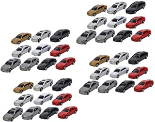 Harilla 10x 1//87 HO Scale Model Cars Plastic Model Cars for Model Making in 1:87 Scale HO Scale Vehicles HO Scale Carsand Trucks Sets