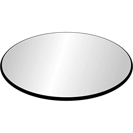 3//8 Thick Tempered Glass Ogee Edge 36 Inch Round Glass Table Top