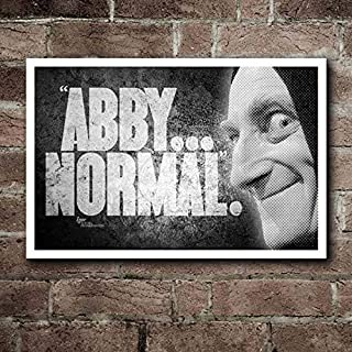 Young Frankenstein IGOR Abby. Normal Quote Poster Movies Poster Gifts for Fan Poster Home Art Wall Posters [No Framed]