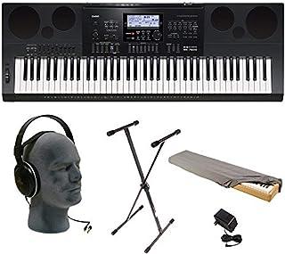 Casio WK-7600 76-Key Premium Keyboard Pack with Audio-Techni