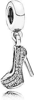 Pandora Women's 791536cz Sparkling Stiletto Charm, Silver